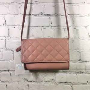 New Time and Tru Blush Lucia Crossbody Bag